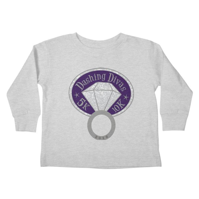 Dashing Divas 5K & 10K Kids Toddler Longsleeve T-Shirt by moonjoggers's Artist Shop