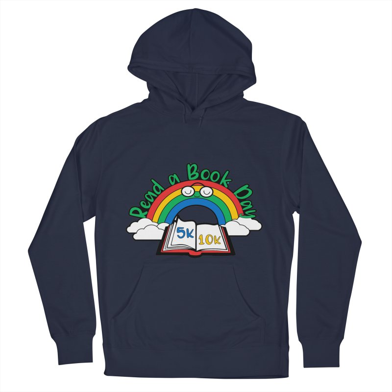 Read a Book Day 5K & 10K Women's Pullover Hoody by moonjoggers's Artist Shop