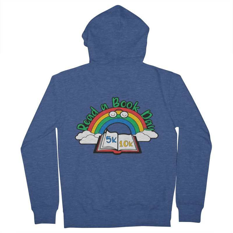 Read a Book Day 5K & 10K Men's Zip-Up Hoody by moonjoggers's Artist Shop