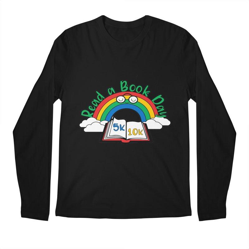 Read a Book Day 5K & 10K Men's Longsleeve T-Shirt by moonjoggers's Artist Shop