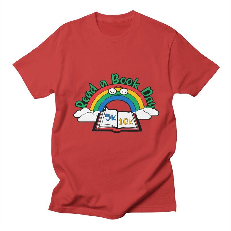 Read a Book Day 5K & 10K Men's T-Shirt by moonjoggers's Artist Shop