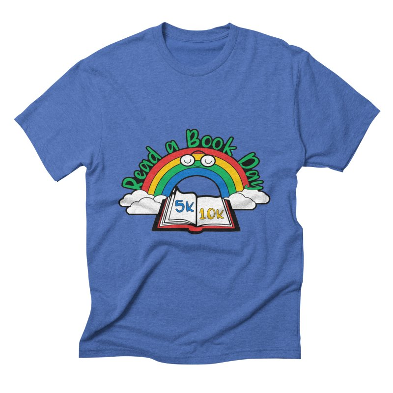 Read a Book Day 5K & 10K Men's Triblend T-Shirt by moonjoggers's Artist Shop