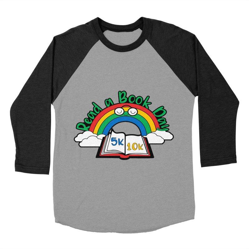 Read a Book Day 5K & 10K Women's Baseball Triblend T-Shirt by moonjoggers's Artist Shop