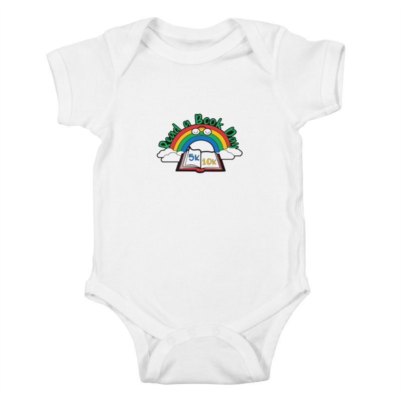 Read a Book Day 5K & 10K Kids Baby Bodysuit by moonjoggers's Artist Shop