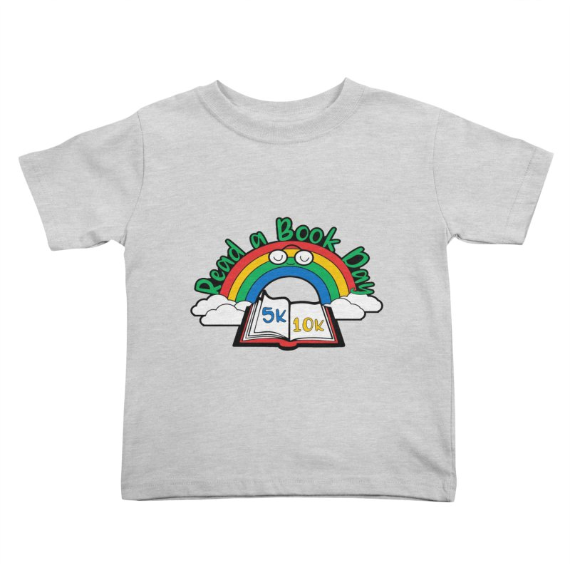 Read a Book Day 5K & 10K Kids Toddler T-Shirt by moonjoggers's Artist Shop