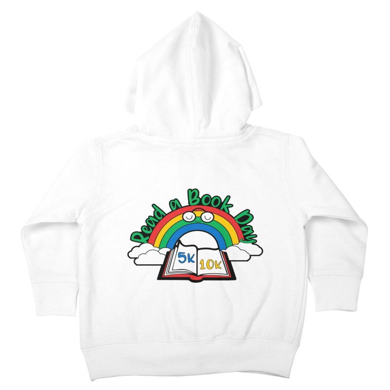 Read a Book Day 5K & 10K Kids Toddler Zip-Up Hoody by moonjoggers's Artist Shop