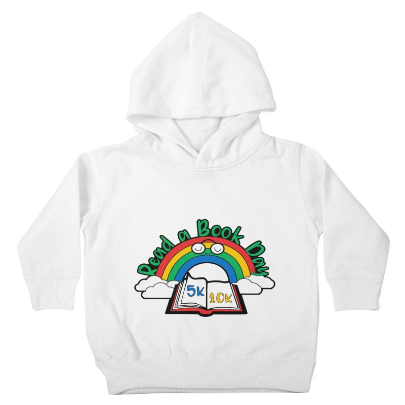 Read a Book Day 5K & 10K Kids Toddler Pullover Hoody by moonjoggers's Artist Shop