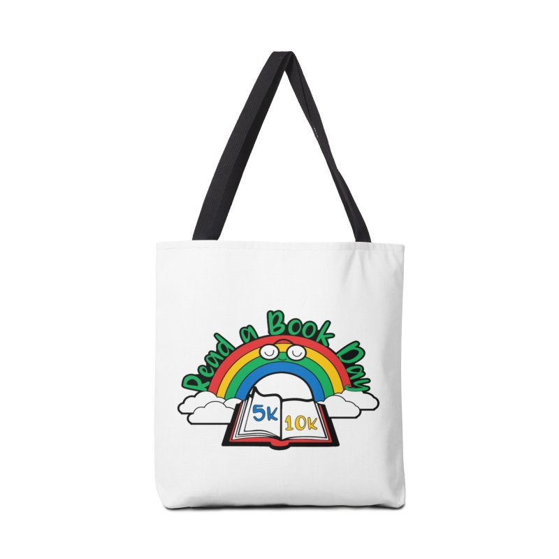 Read a Book Day 5K & 10K Accessories Bag by moonjoggers's Artist Shop
