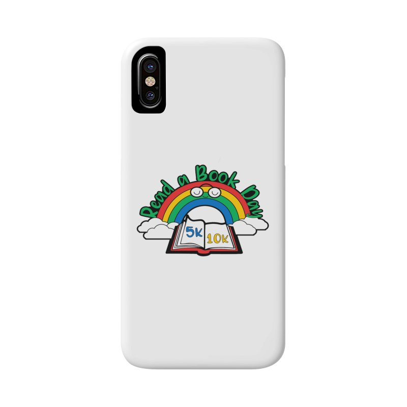 Read a Book Day 5K & 10K Accessories Phone Case by moonjoggers's Artist Shop