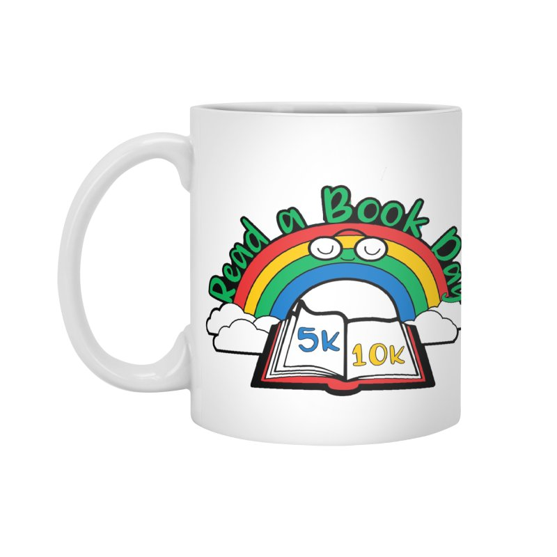 Read a Book Day 5K & 10K Accessories Mug by moonjoggers's Artist Shop