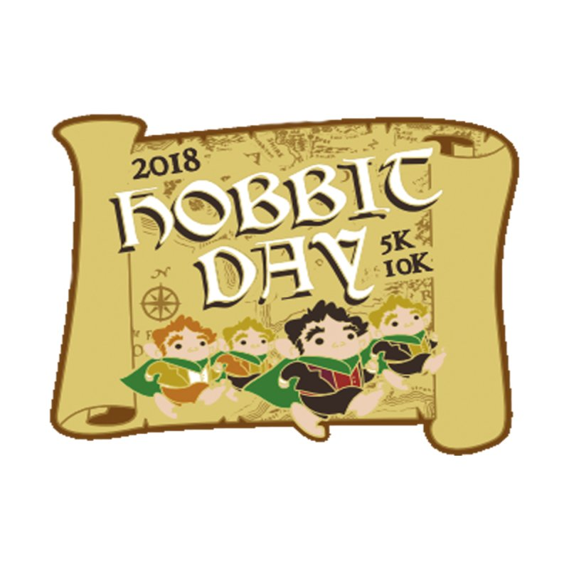 The Hobbit Day 5K & 10K by moonjoggers's Artist Shop