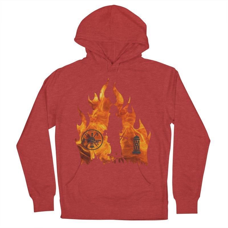 Firefighters 5K & 10K Women's Pullover Hoody by moonjoggers's Artist Shop
