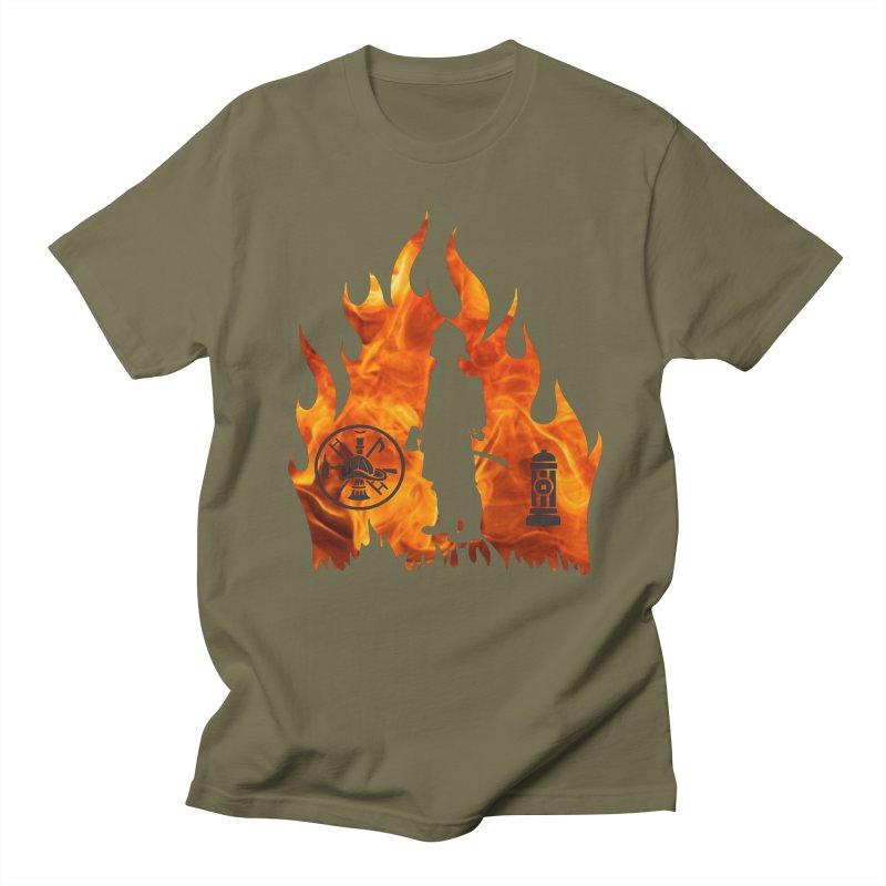 Firefighters 5K & 10K Women's Unisex T-Shirt by moonjoggers's Artist Shop