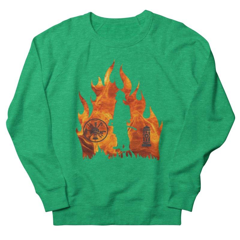 Firefighters 5K & 10K Men's Sweatshirt by moonjoggers's Artist Shop