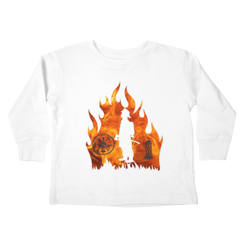 Firefighters 5K & 10K Kids Toddler Longsleeve T-Shirt by moonjoggers's Artist Shop