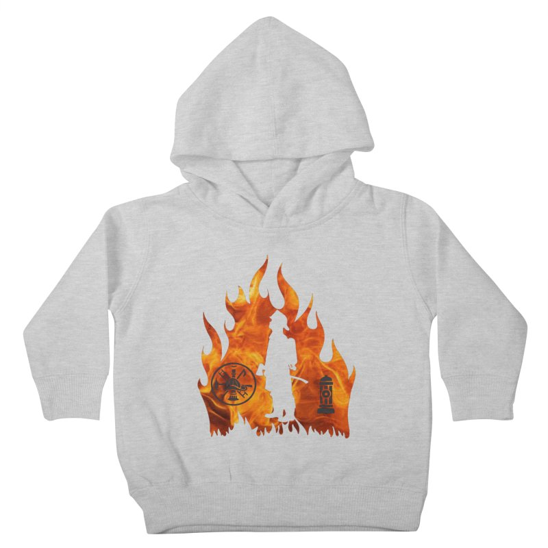 Firefighters 5K & 10K Kids Toddler Pullover Hoody by moonjoggers's Artist Shop