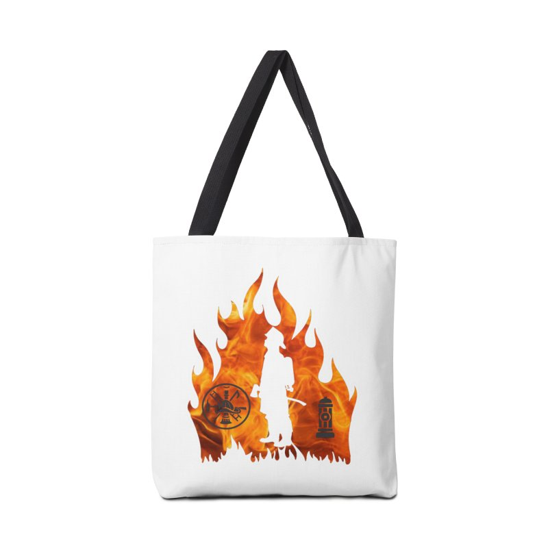 Firefighters 5K & 10K Accessories Bag by moonjoggers's Artist Shop