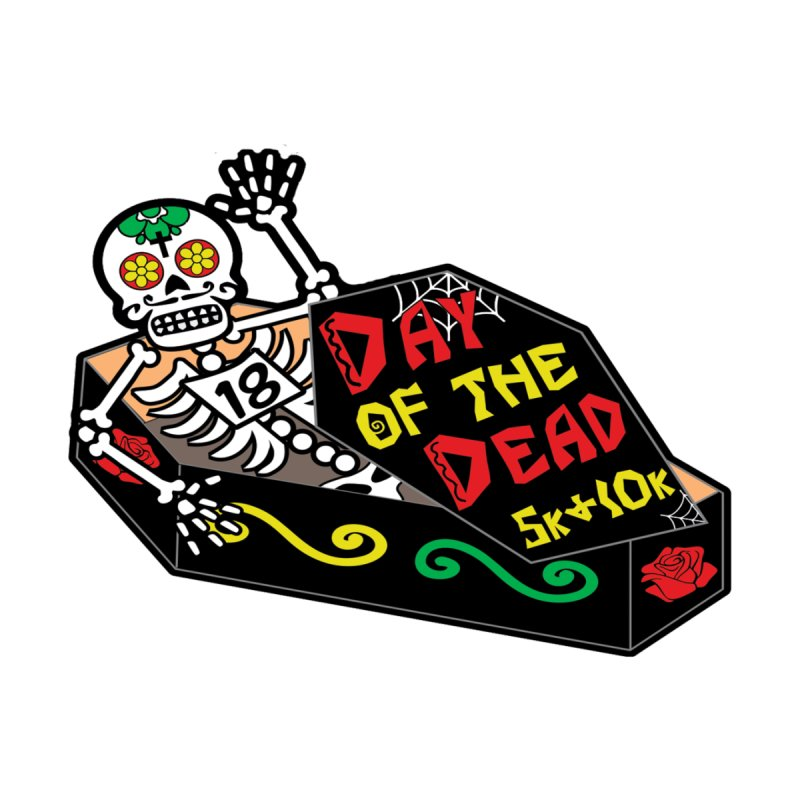 Day of the Dead 5K & 10K Home Blanket by moonjoggers's Artist Shop