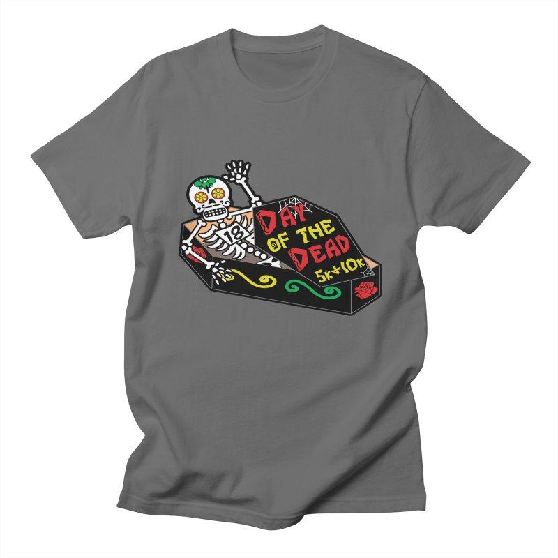 Day of the Dead 5K & 10K Men's T-Shirt by moonjoggers's Artist Shop