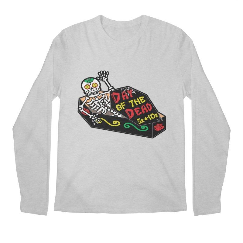 Day of the Dead 5K & 10K Men's Longsleeve T-Shirt by moonjoggers's Artist Shop