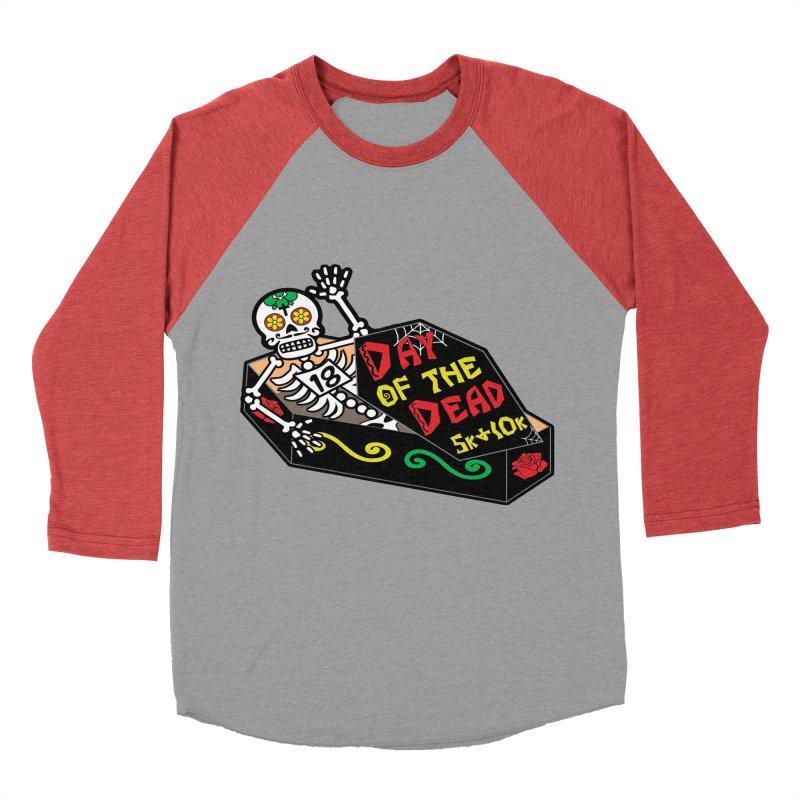 Day of the Dead 5K & 10K Women's Baseball Triblend T-Shirt by moonjoggers's Artist Shop