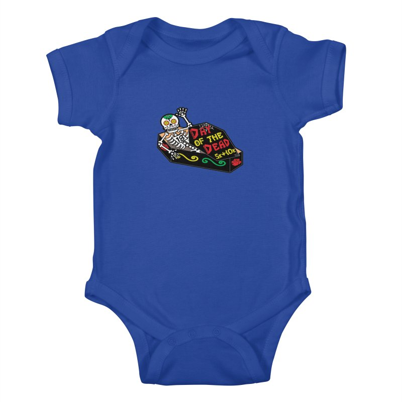 Day of the Dead 5K & 10K Kids Baby Bodysuit by moonjoggers's Artist Shop
