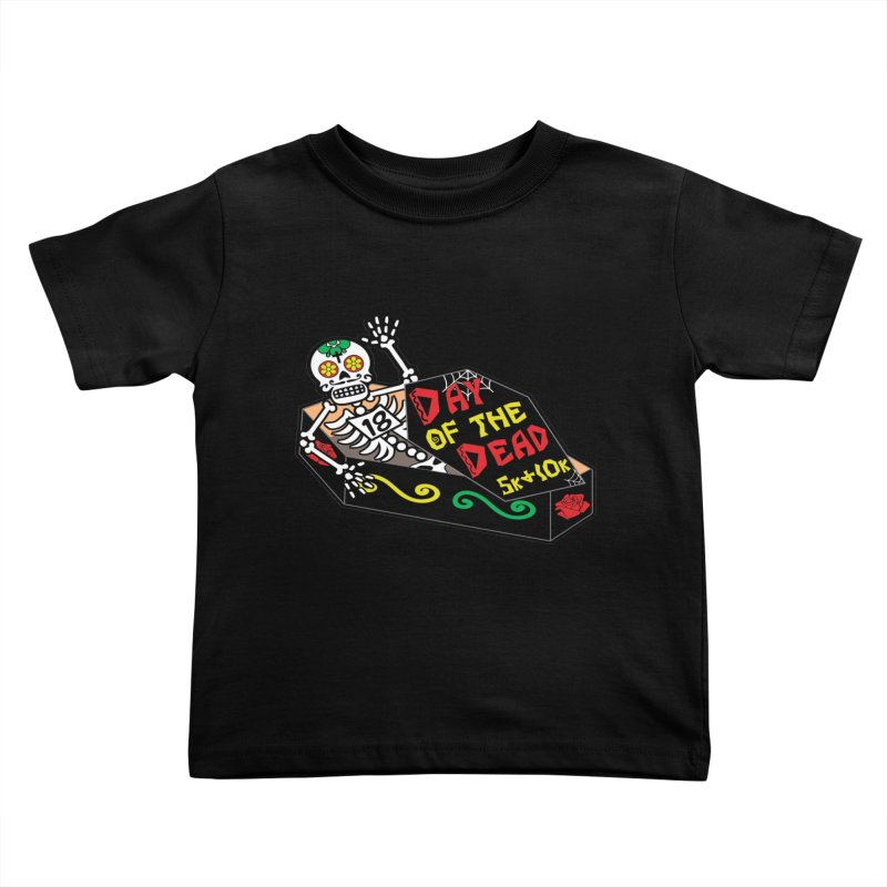 Day of the Dead 5K & 10K Kids Toddler T-Shirt by moonjoggers's Artist Shop