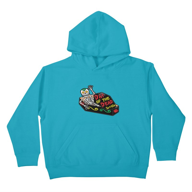 Day of the Dead 5K & 10K Kids Pullover Hoody by moonjoggers's Artist Shop