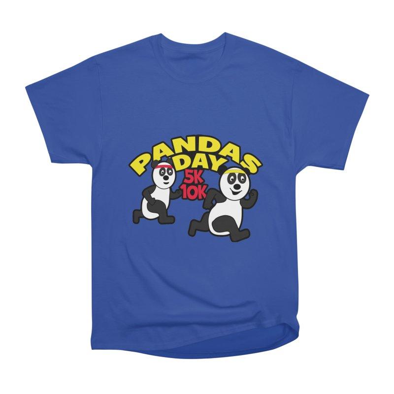 Pandas Day 5K & 10K Men's Heavyweight T-Shirt by moonjoggers's Artist Shop
