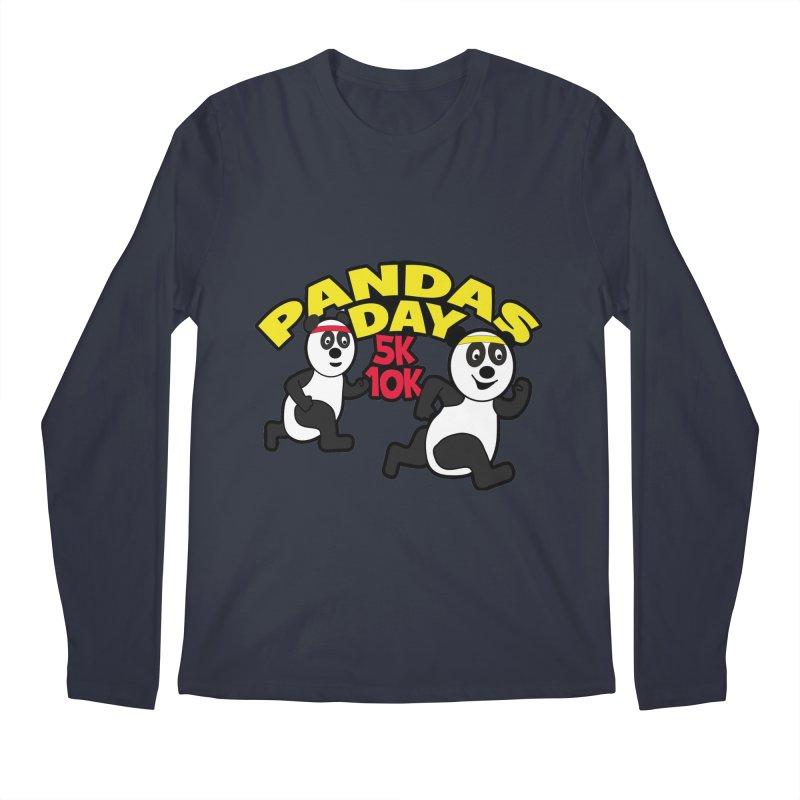 Pandas Day 5K & 10K Men's Longsleeve T-Shirt by moonjoggers's Artist Shop