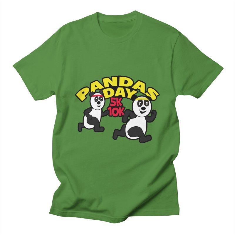 Pandas Day 5K & 10K Men's T-Shirt by moonjoggers's Artist Shop
