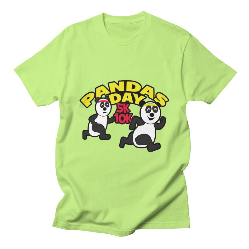 Pandas Day 5K & 10K Women's Unisex T-Shirt by moonjoggers's Artist Shop