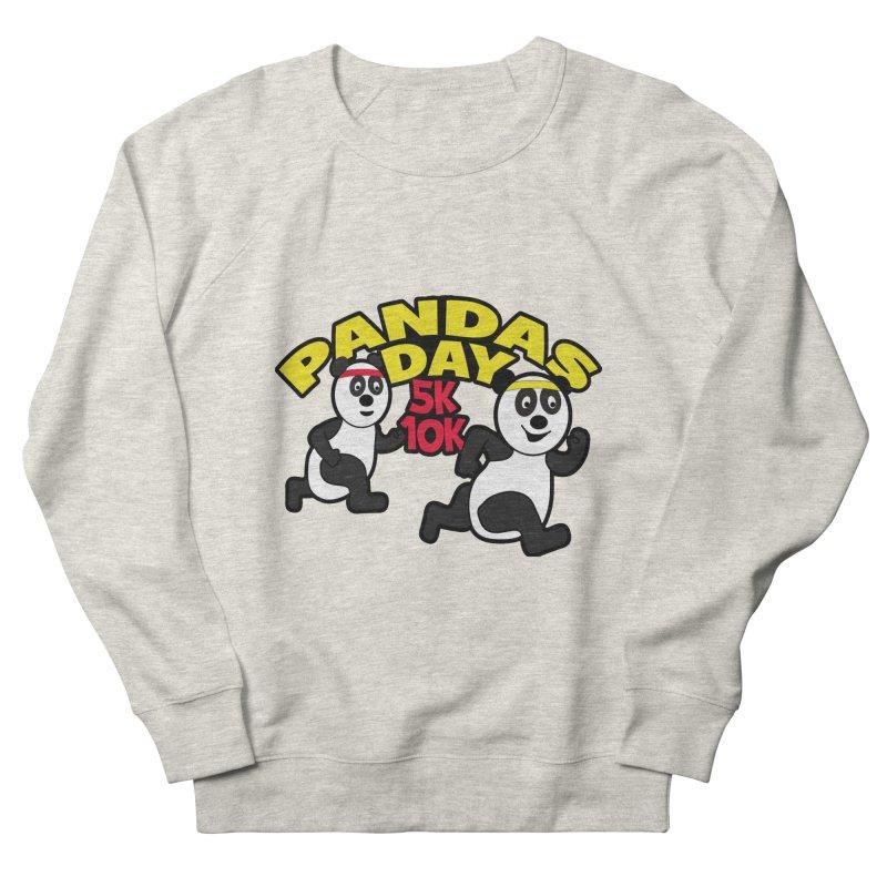 Pandas Day 5K & 10K Men's Sweatshirt by moonjoggers's Artist Shop