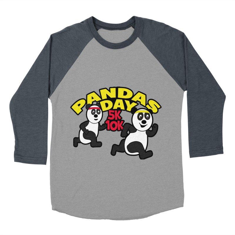 Pandas Day 5K & 10K Women's Baseball Triblend T-Shirt by moonjoggers's Artist Shop