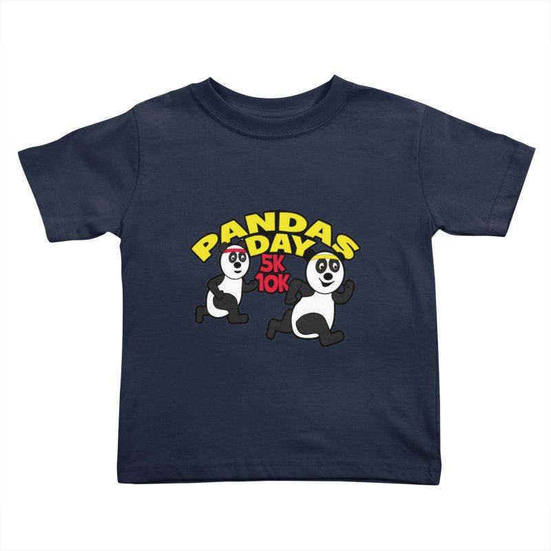 Pandas Day 5K & 10K Kids Toddler T-Shirt by moonjoggers's Artist Shop
