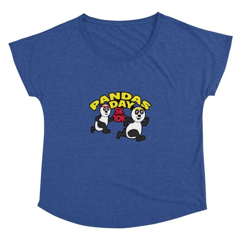 Pandas Day 5K & 10K Women's Dolman by moonjoggers's Artist Shop