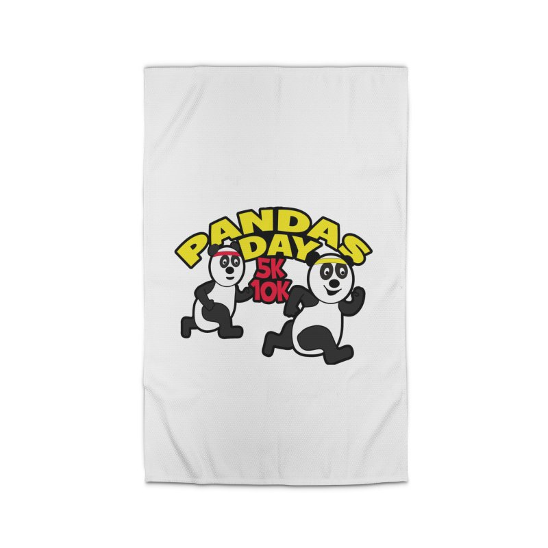 Pandas Day 5K & 10K Home Rug by moonjoggers's Artist Shop