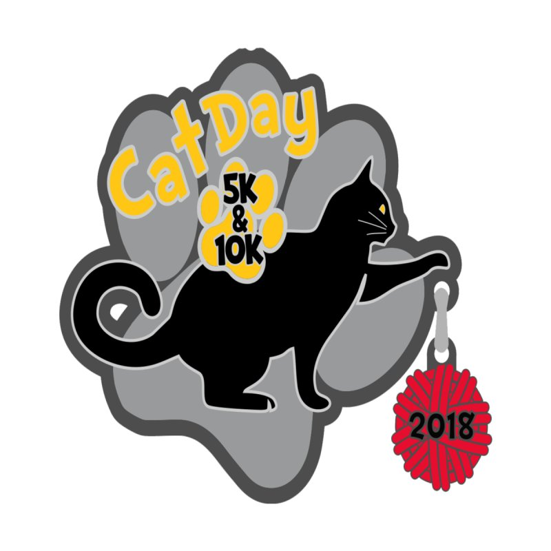 Cat Day 5K & 10K by moonjoggers's Artist Shop