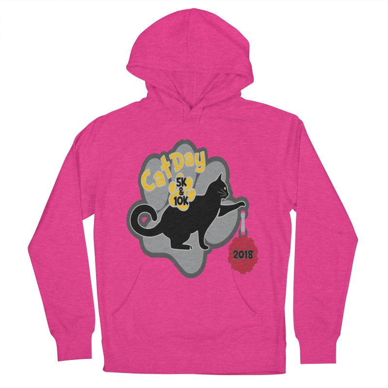 Cat Day 5K & 10K Women's French Terry Pullover Hoody by moonjoggers's Artist Shop