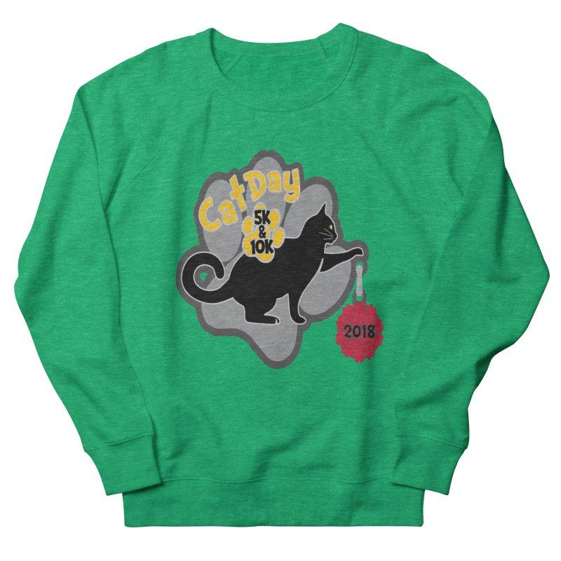 Cat Day 5K & 10K Men's French Terry Sweatshirt by moonjoggers's Artist Shop