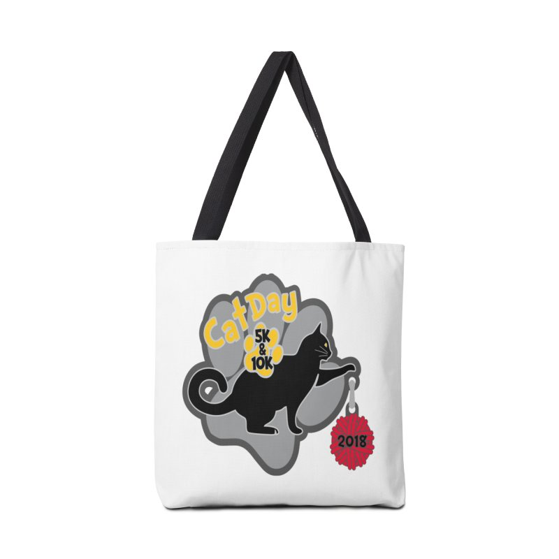 Cat Day 5K & 10K Accessories Bag by moonjoggers's Artist Shop