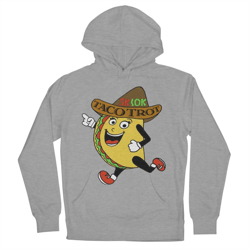 Taco Trot 5K & 10K Women's French Terry Pullover Hoody by moonjoggers's Artist Shop