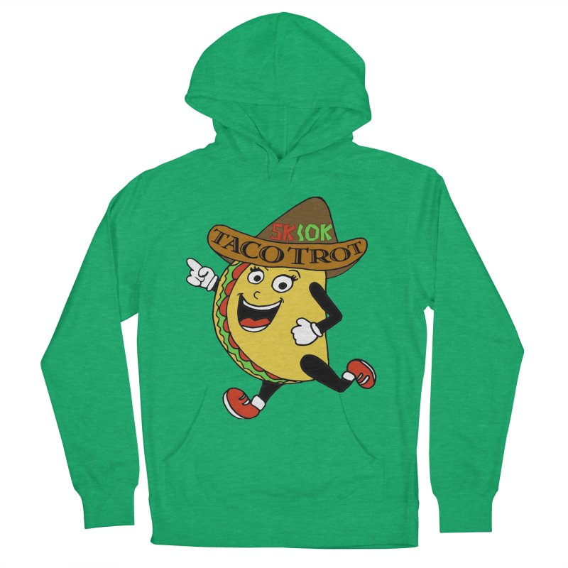 Taco Trot 5K & 10K Men's French Terry Pullover Hoody by moonjoggers's Artist Shop