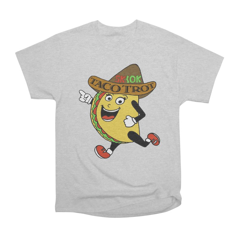 Taco Trot 5K & 10K Women's Heavyweight Unisex T-Shirt by moonjoggers's Artist Shop