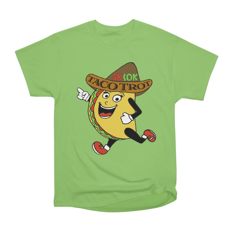 Taco Trot 5K & 10K Men's Heavyweight T-Shirt by moonjoggers's Artist Shop