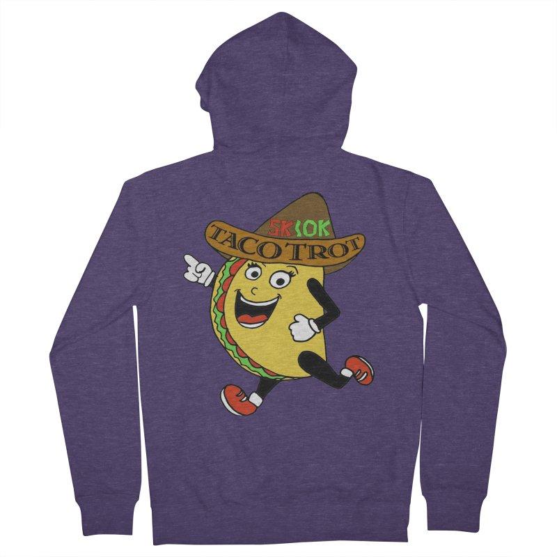 Taco Trot 5K & 10K Men's Zip-Up Hoody by moonjoggers's Artist Shop
