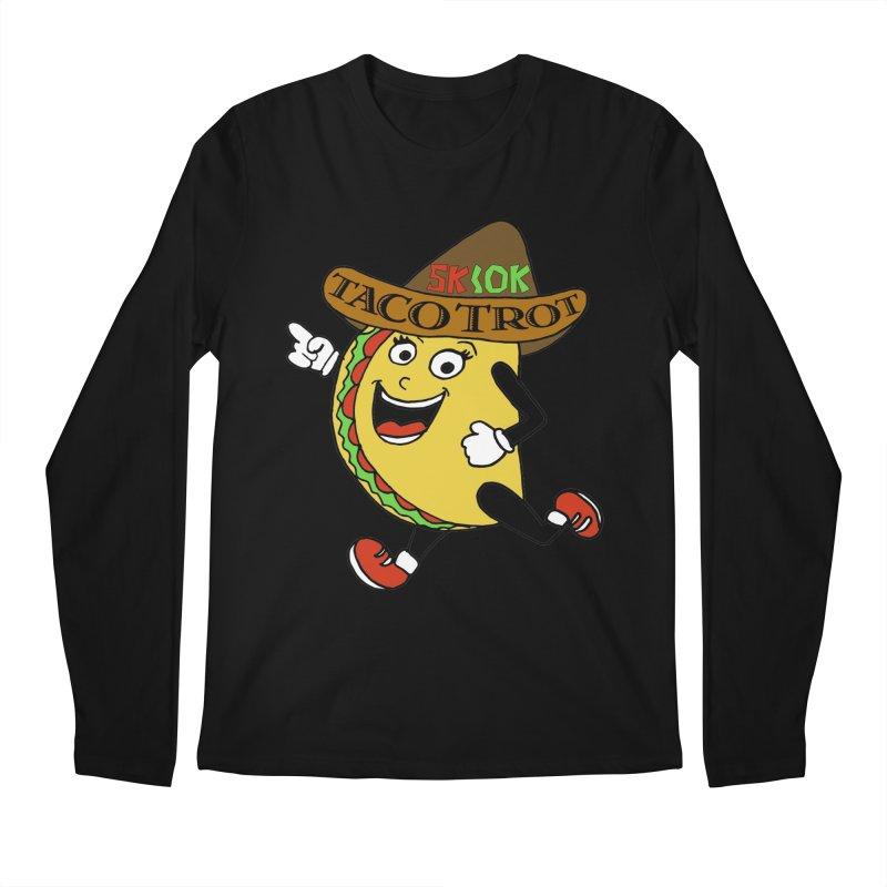 Taco Trot 5K & 10K Men's Longsleeve T-Shirt by moonjoggers's Artist Shop