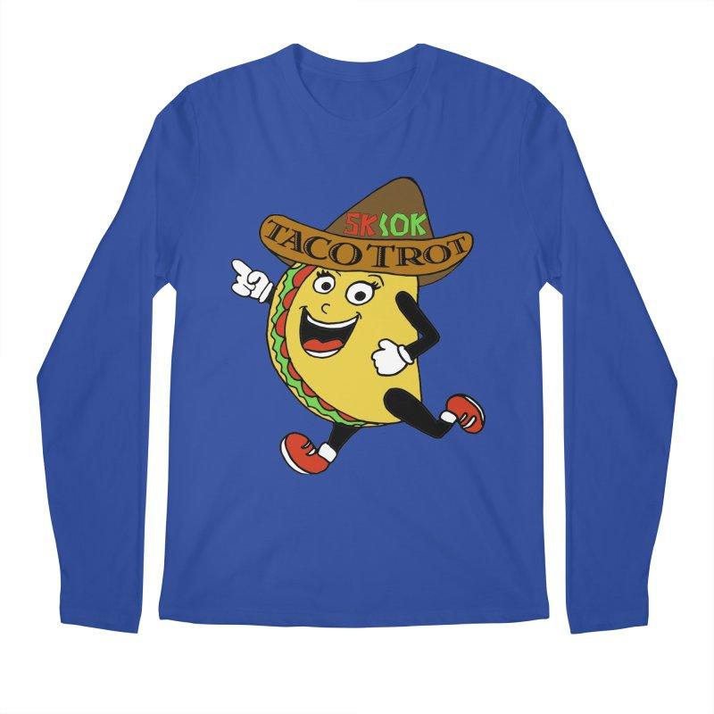 Taco Trot 5K & 10K Men's Regular Longsleeve T-Shirt by moonjoggers's Artist Shop