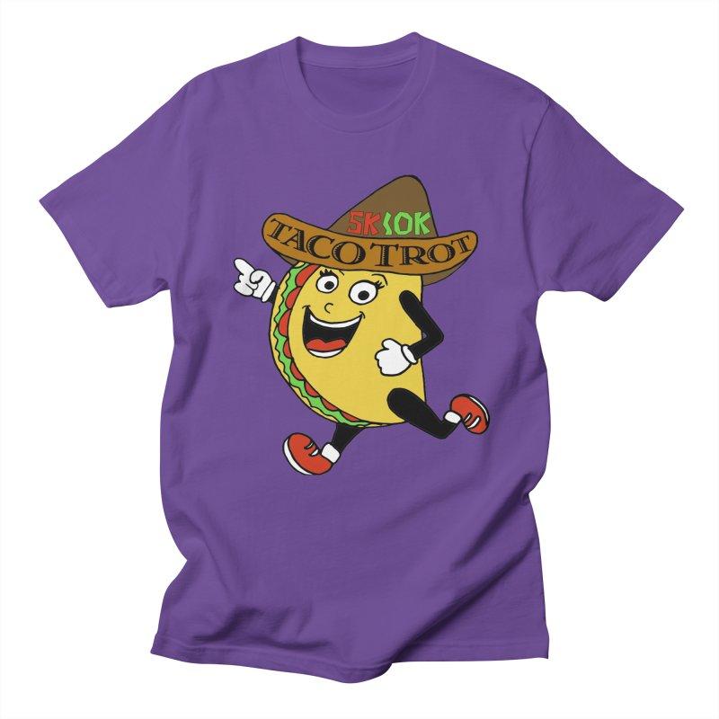 Taco Trot 5K & 10K Men's Regular T-Shirt by moonjoggers's Artist Shop
