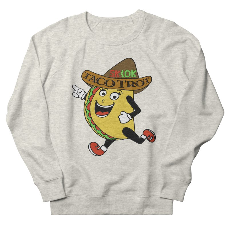 Taco Trot 5K & 10K Men's French Terry Sweatshirt by moonjoggers's Artist Shop